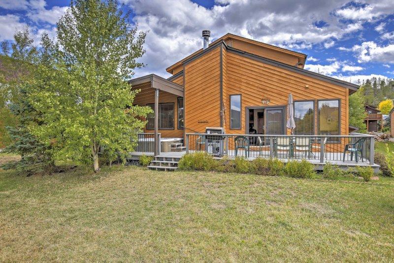 Soak up some of Colorado's invigorating sunshine.