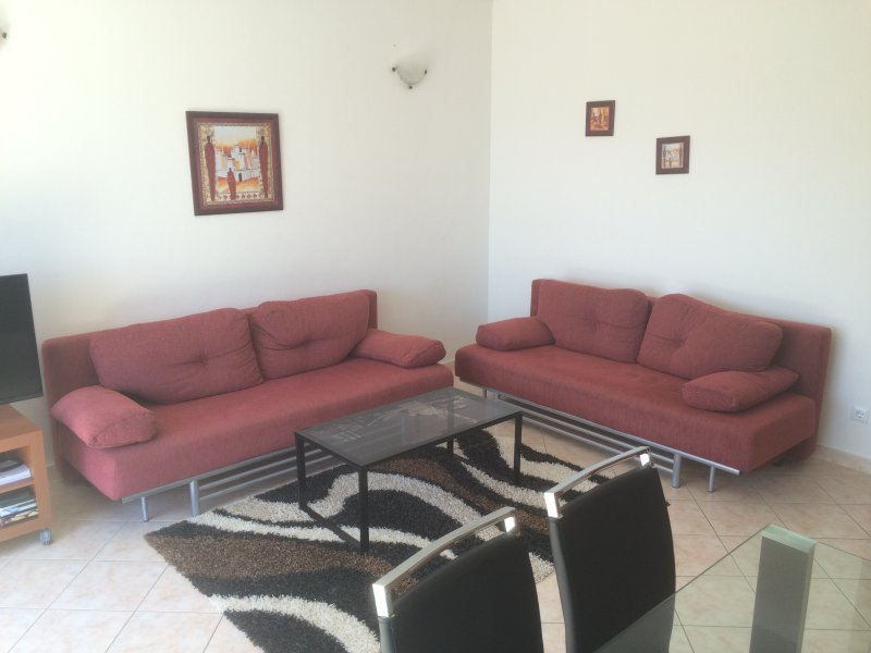 Livingroom including two sofa beds