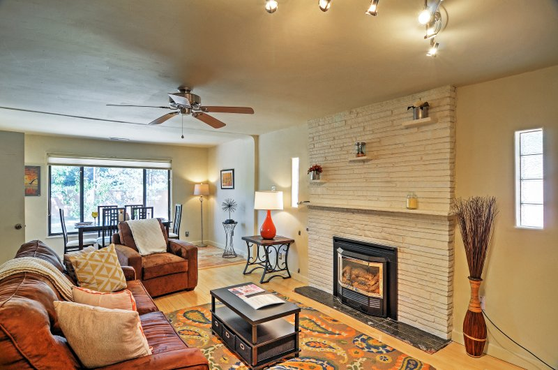 Find your own desert oasis when you book this marvelous Albuquerque vacation rental home.