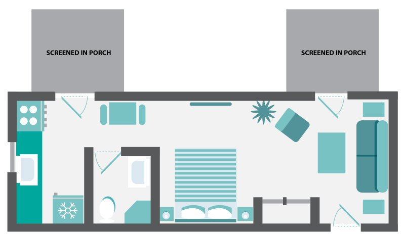 Beach House # 2 Floorplan.