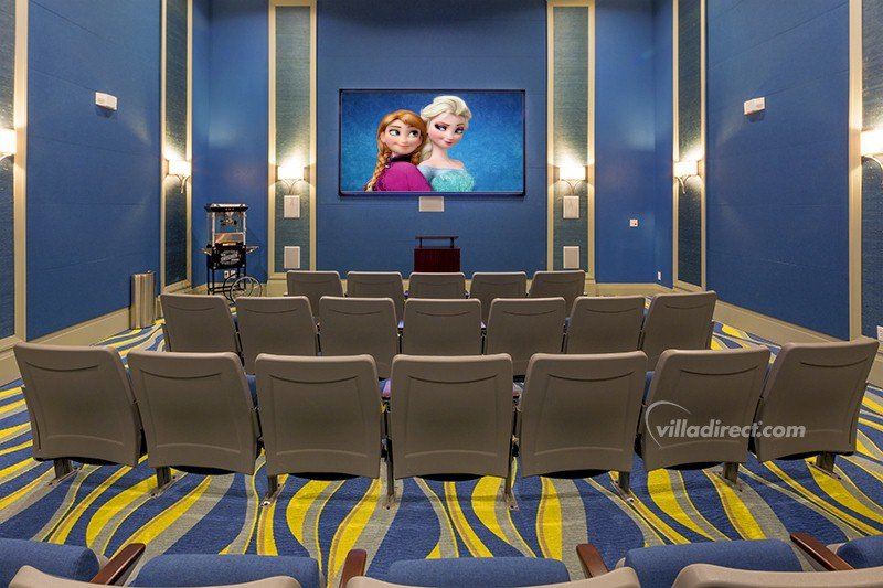 Club house theatre room