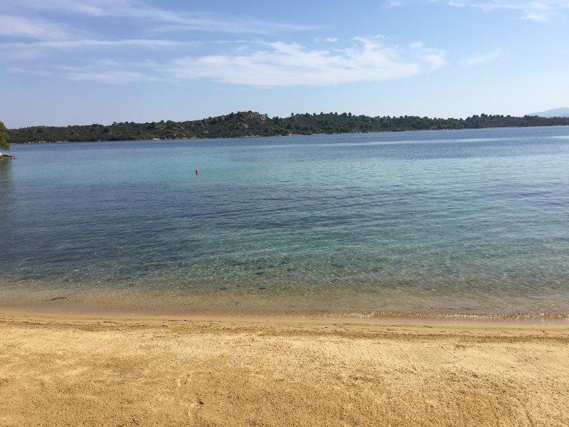 Opinión de la isla de playa Diaporos