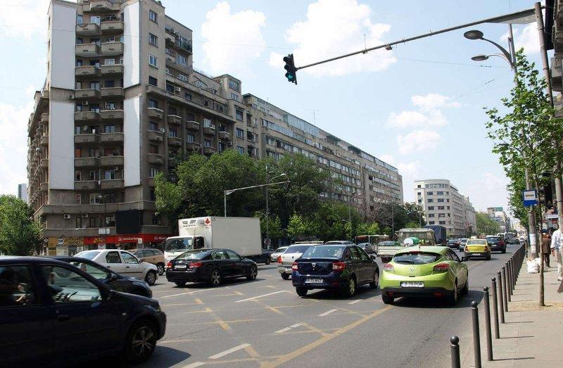 Bd Nicolae Balcescu, à Place de l'Université