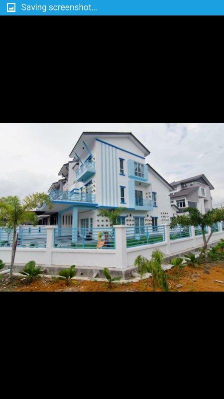 Sekinchan santorini villa, holiday rental in Sekinchan