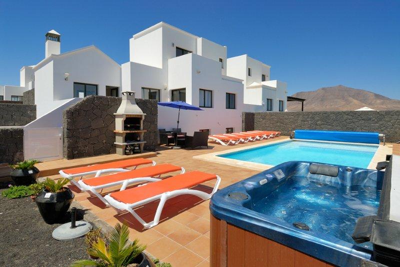 Terrasse de piscine