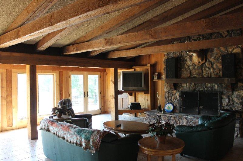 Vista de la sala de estar de interior