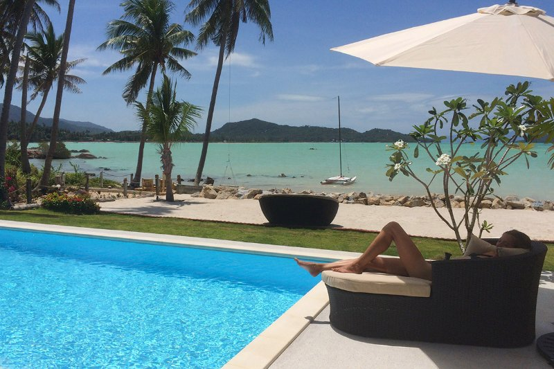BLISS VILLAS - Luxury Beachfront Pool Villas, holiday rental in Ko Pha Ngan