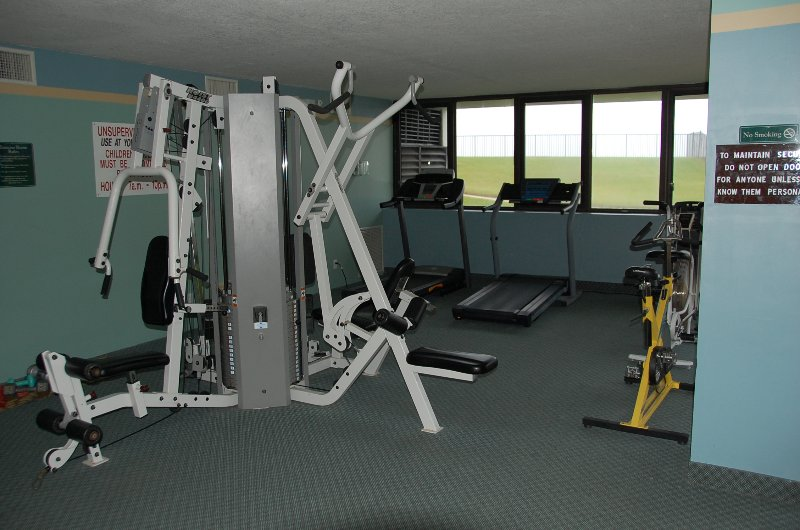 On-site workout room
