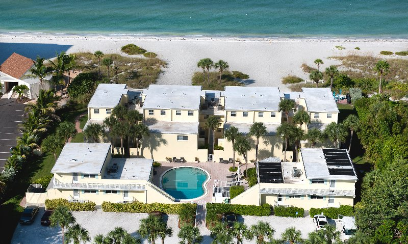 Vacation Rentals directly on the beach!