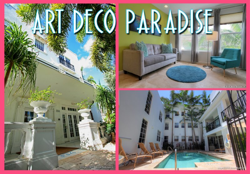 $95/night & up in Paradise! South of 5th Art Deco, alquiler de vacaciones en Miami Beach