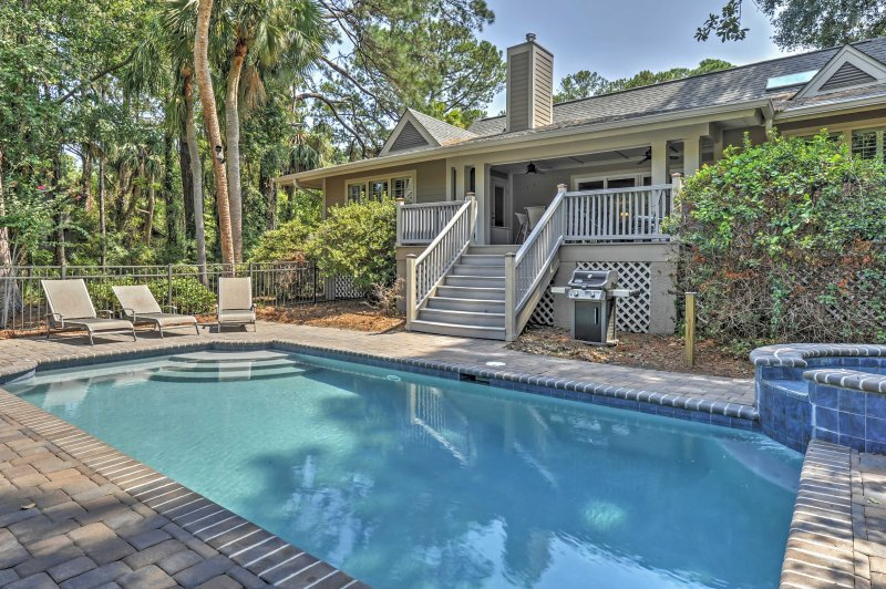 This outstanding Hilton Head vacation rental house will be your own private paradise!