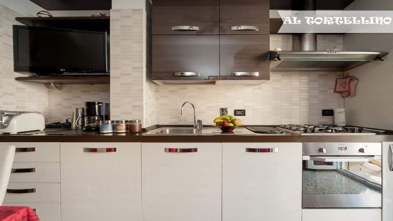 Kitchen with oven,dishwasher, fridge, freezer,coffee machine for american and italian coffee,microwa
