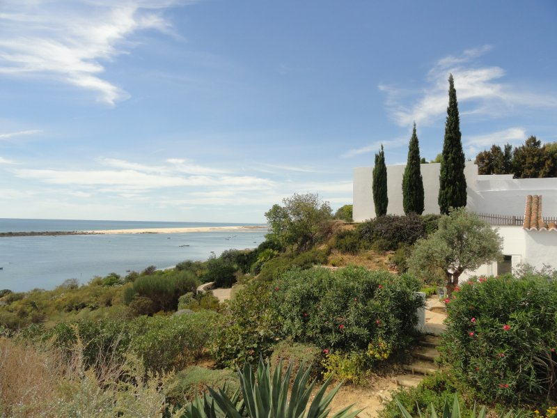 Place of interest ,Cacela Velha, a small village perched on a hill overlooking the Ria Formosa.