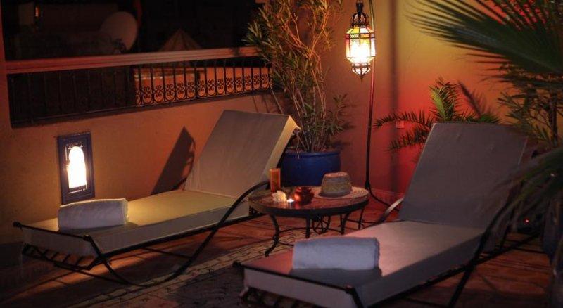 Lounger terrace.