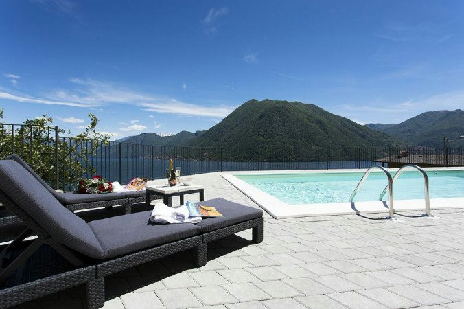 Residence degli Oleandri 5A, holiday rental in Argegno