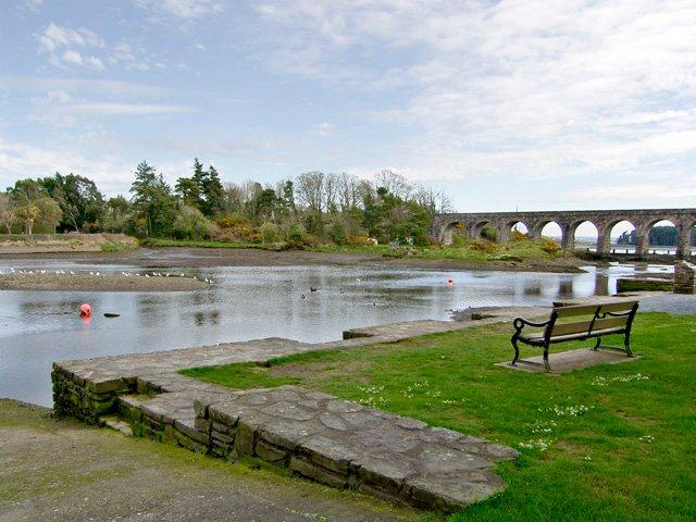 The old railway bridge at Ballydehob