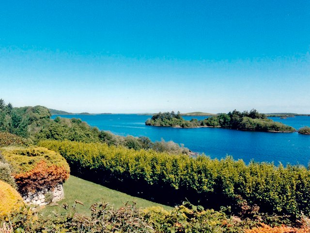Lough Corrib views from the property