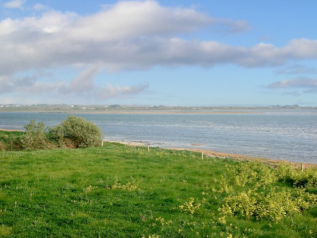 View across the estuary from the grounds of the property