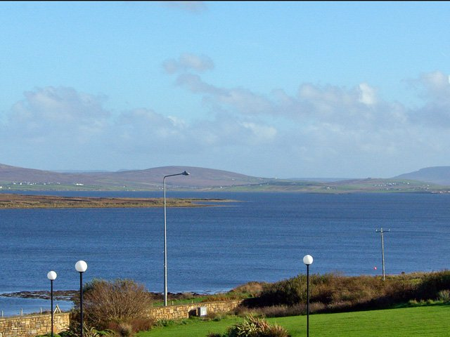 View across the bay at Belmullet