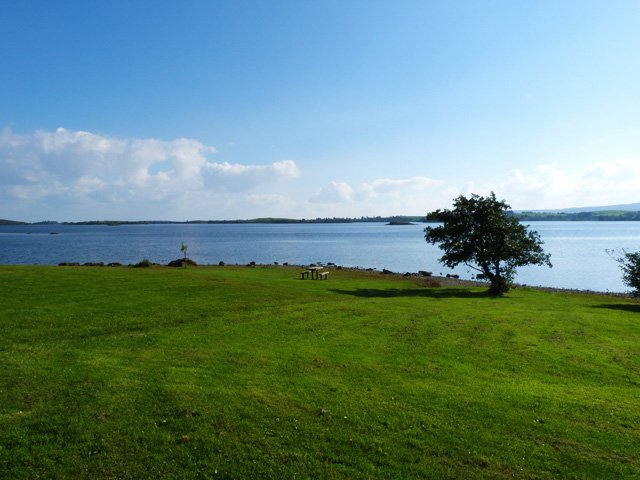 Lough Corrib at Cornamona