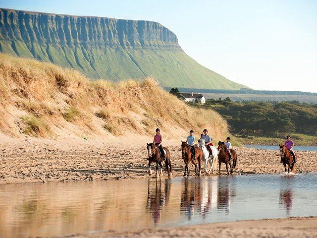 Benbulben, horse riding