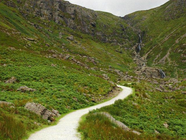Caídas de Mahon, montañas de Coomeragh