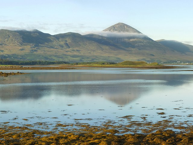 Clew Bay and Croagh Patrick