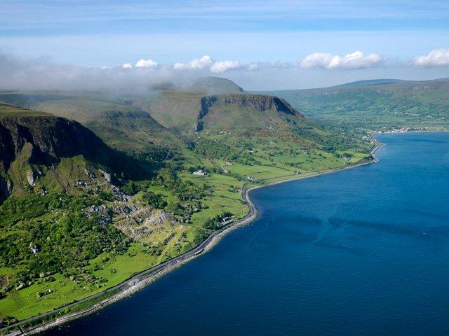 Glen's of Antrim Coastline