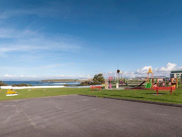 Sea front playground at Bundoran