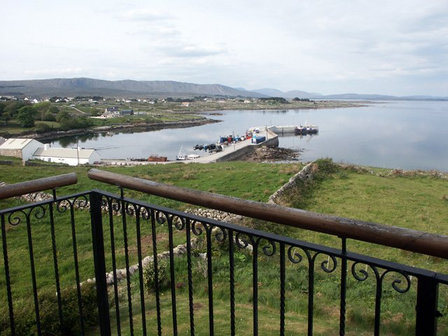 Kilkieran Pier from the property