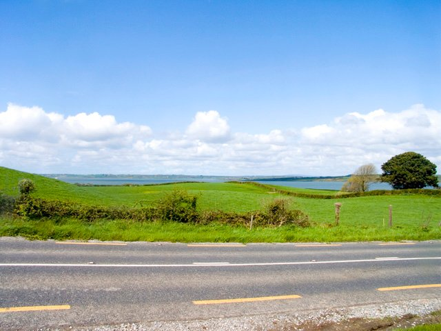 Views of the Shannon Estuary from across the road from the property