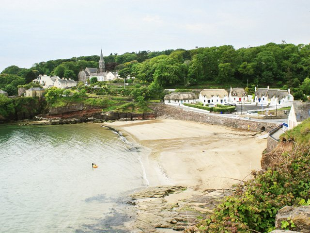 Dunmore East village and beach