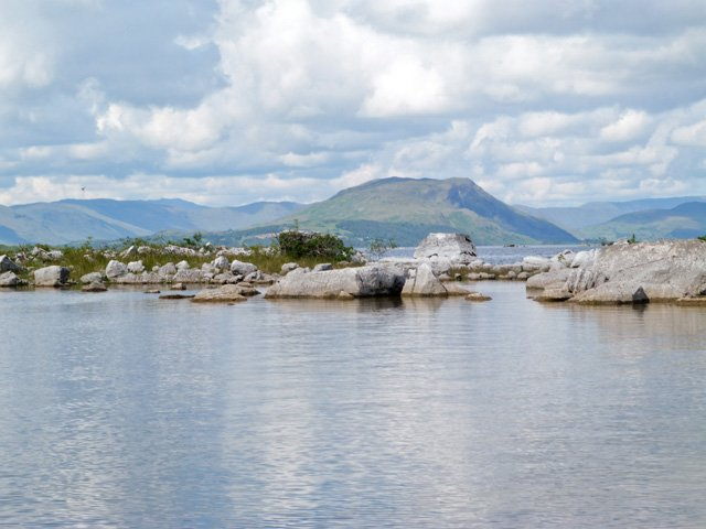Lough Mask from the grounds of the property
