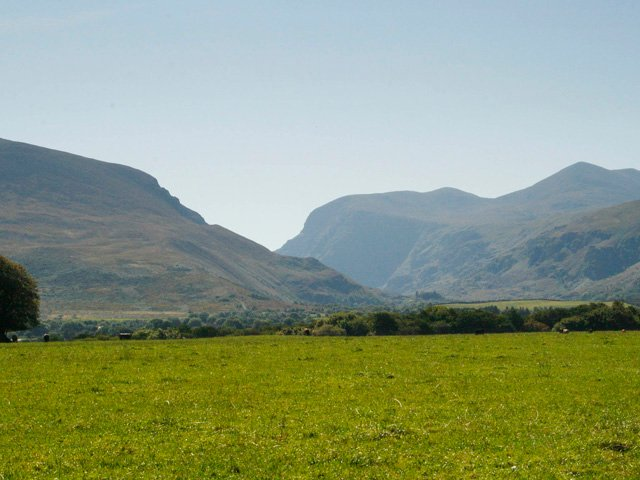 Distant views of the Gap of Dunloe