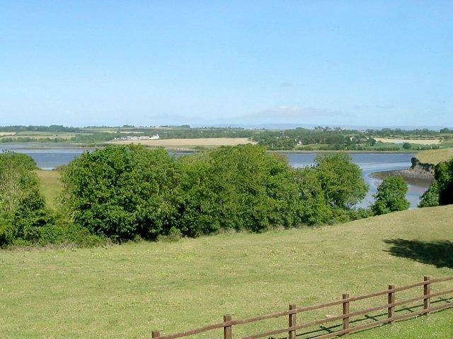 Views of the river Moy as it enters Killala Bay