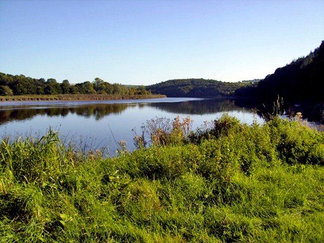 Blackwater river near Knockanore
