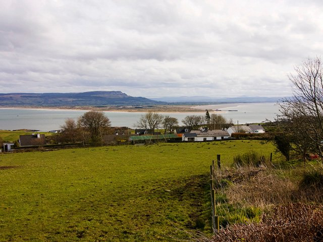 View from the property of Lough Foyle