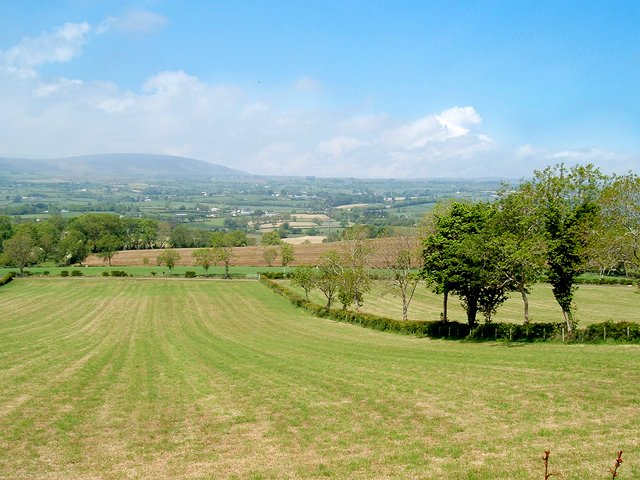 Antrim landscape from the property