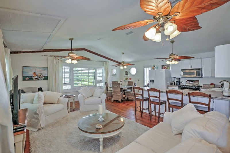 Treat yourself to a relaxing getaway at this New Smyrna Beach vacation rental!