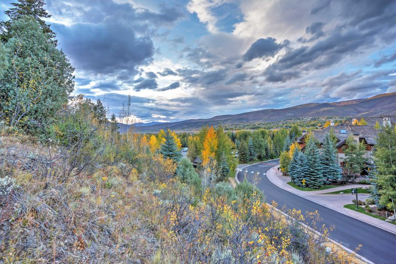 This Beaver Creek condo places you minutes from a plethora of outdoor activities!