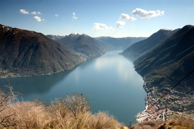 The beauy of lake Como
