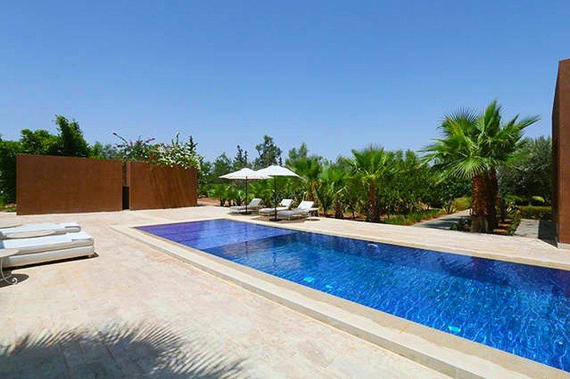 grande piscina privada