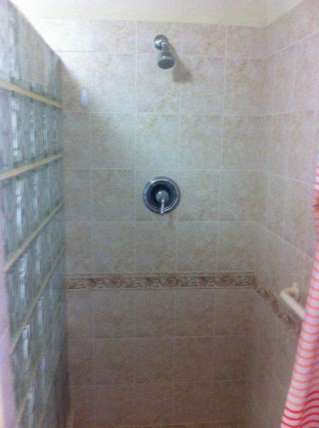 Área de ducha
