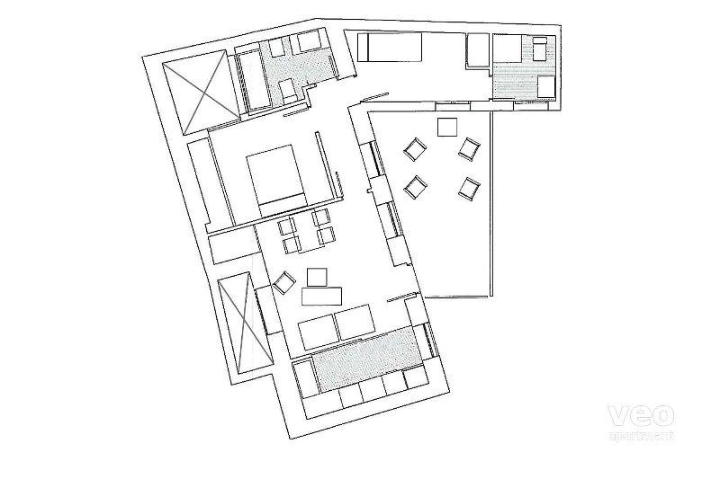 62sqm + balcony | first floor | elevator