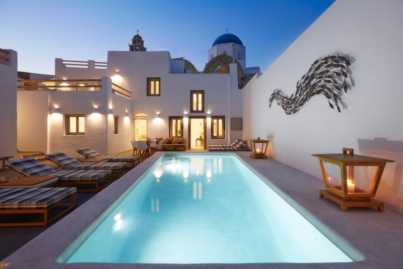 The authentic side of living in Santorini