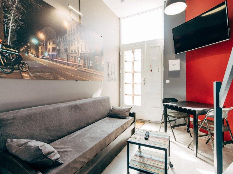 Appartement Ledin GAUCHE - Saint Etienne City Room, holiday rental in Aurec-sur-Loire