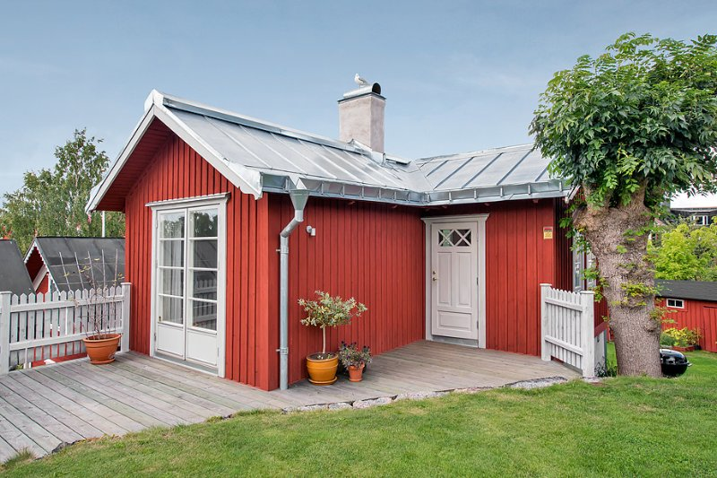 Cosy seaview cottage in central Vaxholm – semesterbostad i Åkersberga