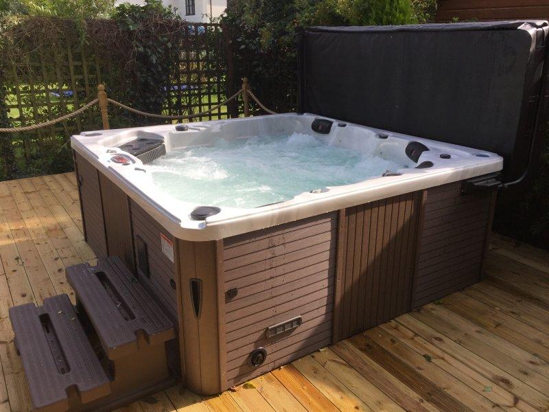 Nueva bañera de hidromasaje