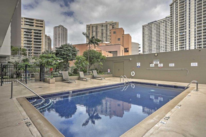 Das Hotel liegt im Inn on the Park Wohnung Komplex Dieses Studio gewährt Ihnen Zugang zu einem schönen Gemeinschaftspool!