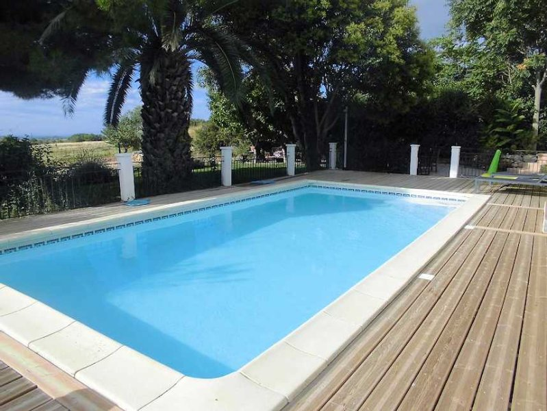 Gite with private pool in France
